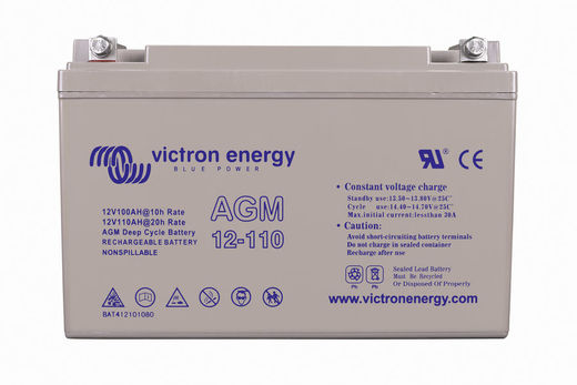 VICTRON ENERGY AGM DEEP CYCLE 12V 110AH