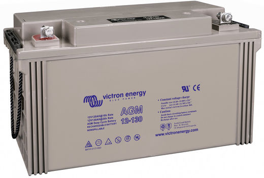 VICTRON ENERGY AGM DEEP CYCLE 12V 130AH